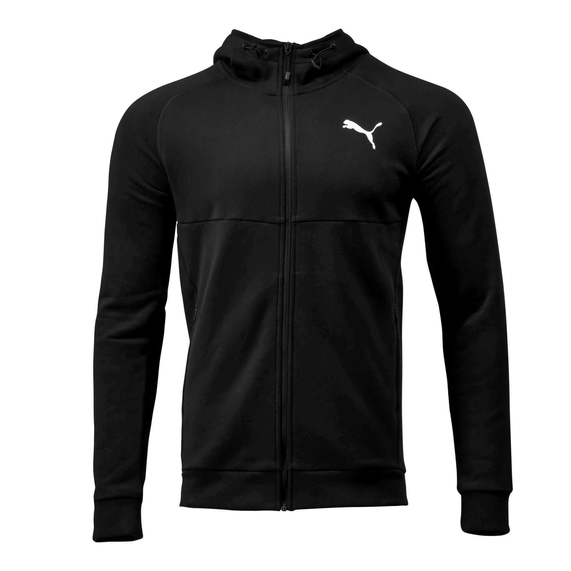 Jachetă PUMA negru bărbați imagine
