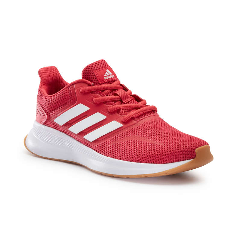 WALKINGSKO JUNIOR Typ av sko - Sneakers Adidas Falcon JR rosa ADIDAS - Sneakers