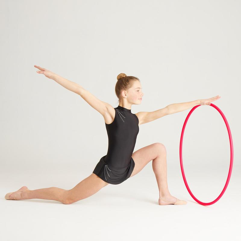 Cerceau de Gymnastique Rythmique (GR) de 75 cm Corail