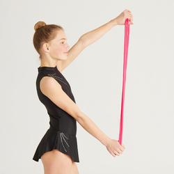 Touw voor ritmische gymnastiek 3 meter koraalrood
