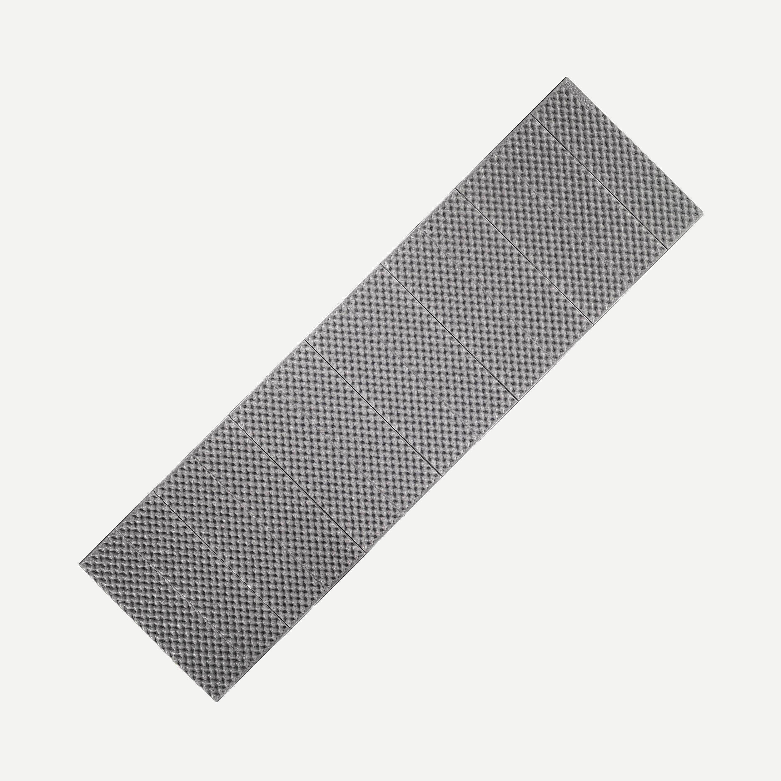 Foam Folding Trekking Mattress - TREK 100 - Grey - L By FORCLAZ | Decathlon