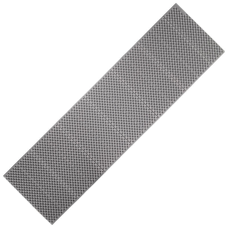 Schuimmat voor trekking Trek 100 opvouwbaar grijs