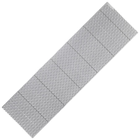 Insulating trekking foam folding mattress TREK 100 grey
