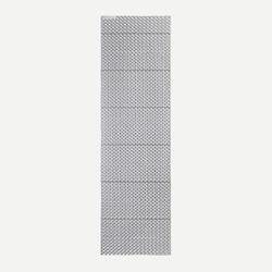 Trekkingmatratze Trek 100 isolierend faltbar Schaumstoff grau