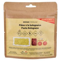 Vriesdroogmaaltijd voor trekking Pasta Bolognese