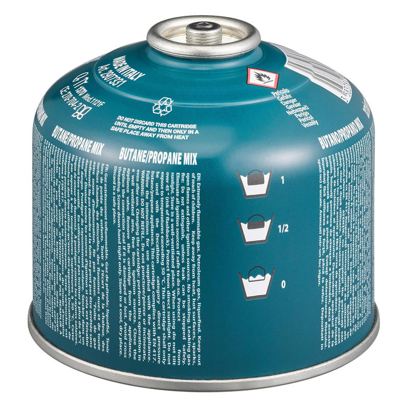 Cartucho de gas de rosca 230 gramos para hornillo V2