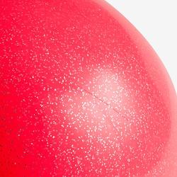 Ballon de Gymnastique Rythmique de 165 mm Corail Pailleté