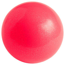Bola de Ginástica Rítmica 16,5 mm Brilhantes Coral