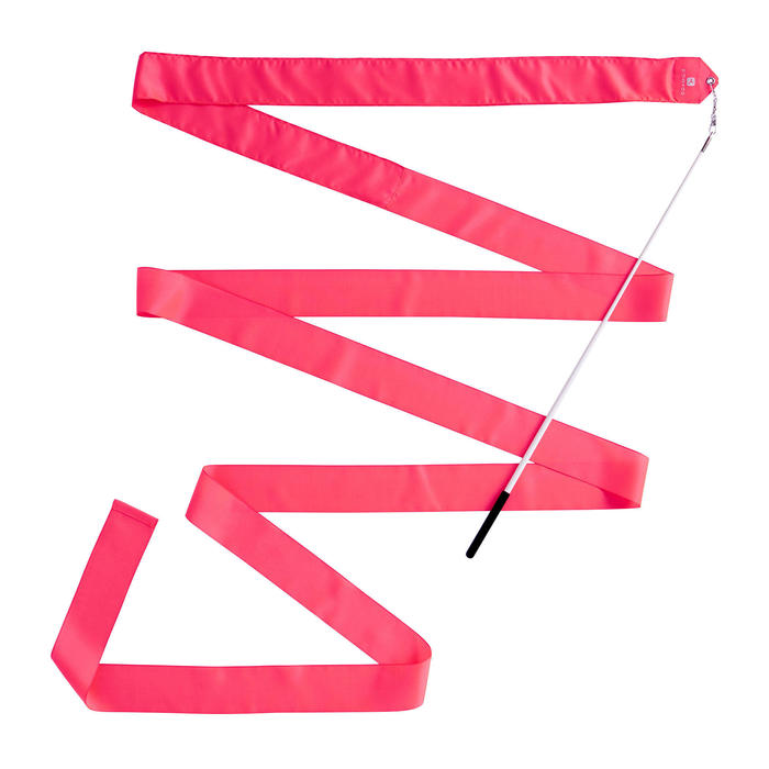 Ruban de Gymnastique Rythmique (GR) de 4 mètres Corail