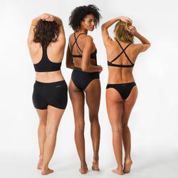 女款衝浪短褲REVA-黑色
