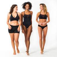 Short Bikini surf Olaian Mujer Reva Negro