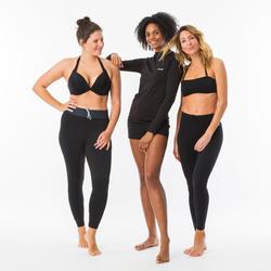 LEGGINGS UV SURF 100 WOMEN BLACK