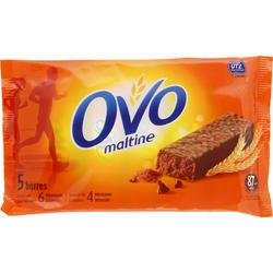 Barra com cobertura OVOMALTINE chocolate 5x20 g
