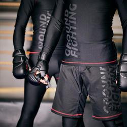 Vechthandschoenen Grappling 500 zwart