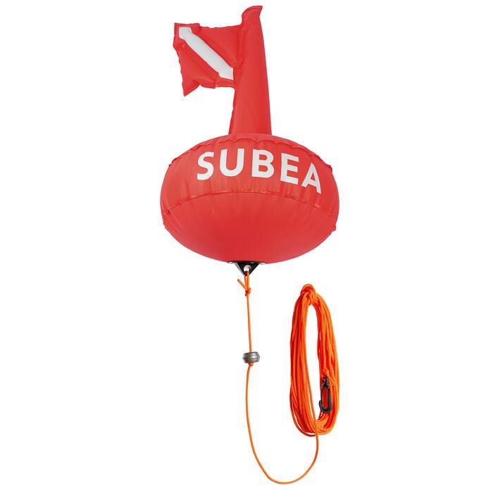 Signalisatieboei voor harpoenvissers die vrijduiken SPF 100
