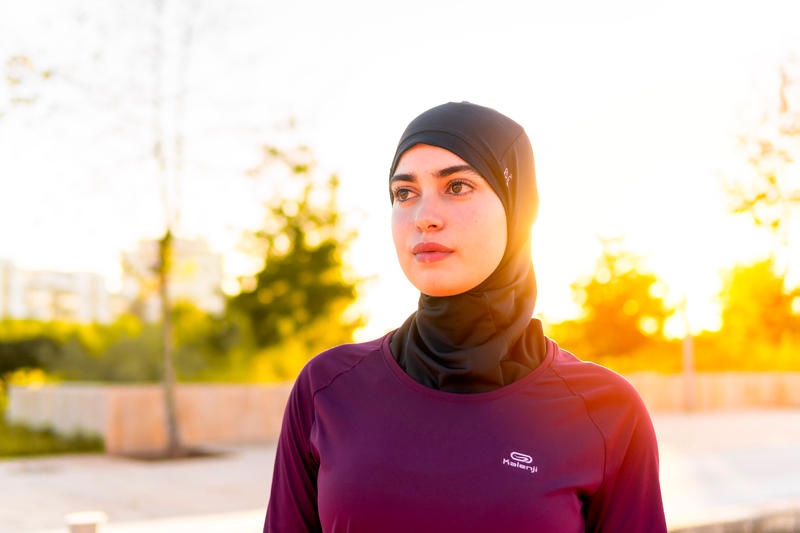 RUNNING HIJAB - BLACK