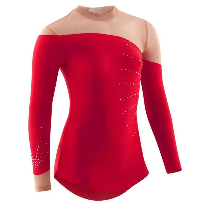 Ritmikus Gimnasztika ruházat és papucs Tánc, torna, RG - Dressz ritmikus gimnasztikához DOMYOS - Ritmikus gimnasztika
