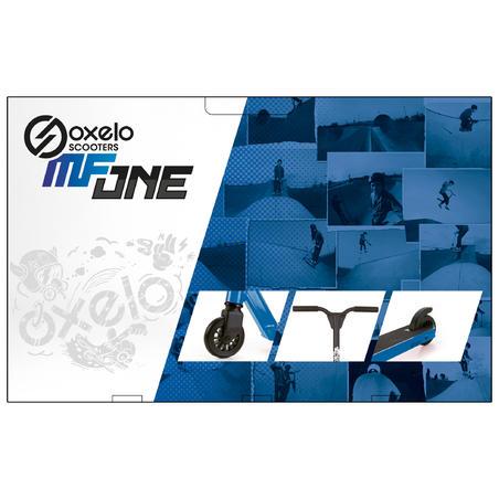 Самокат MF One 2019 для фристайлу - Синій