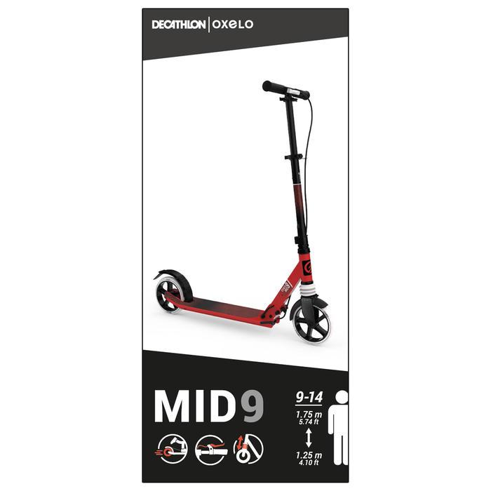 滑板車MID 9 - 紅色