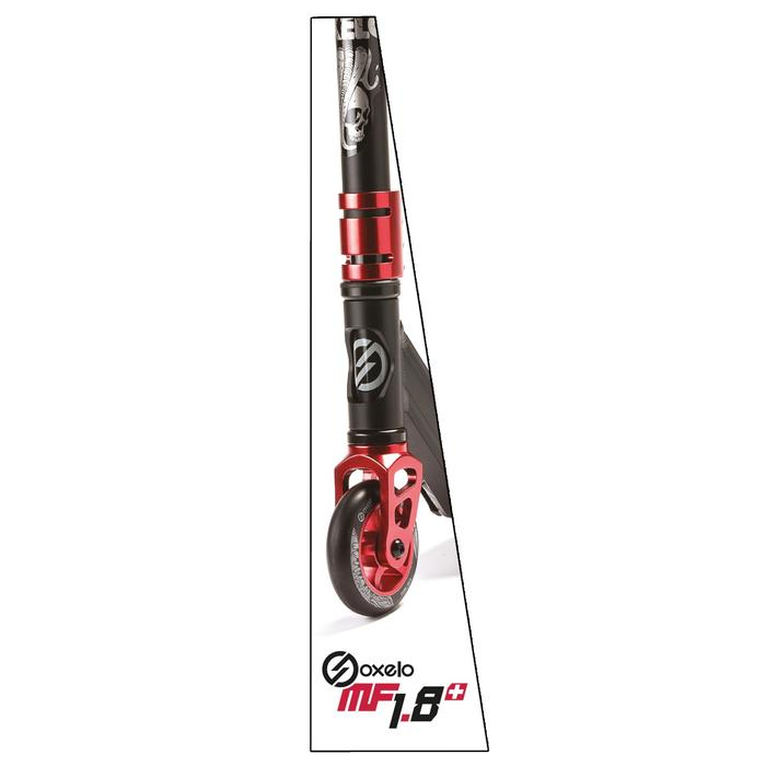 Freestyle step MF1.8 + zwart/rood