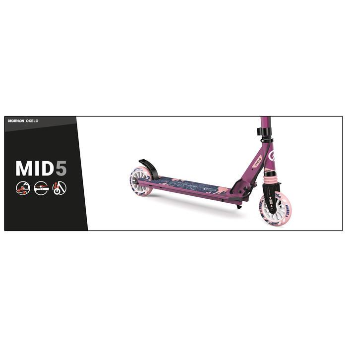 兒童滑板車附手把煞車MID5 - 印度圖案