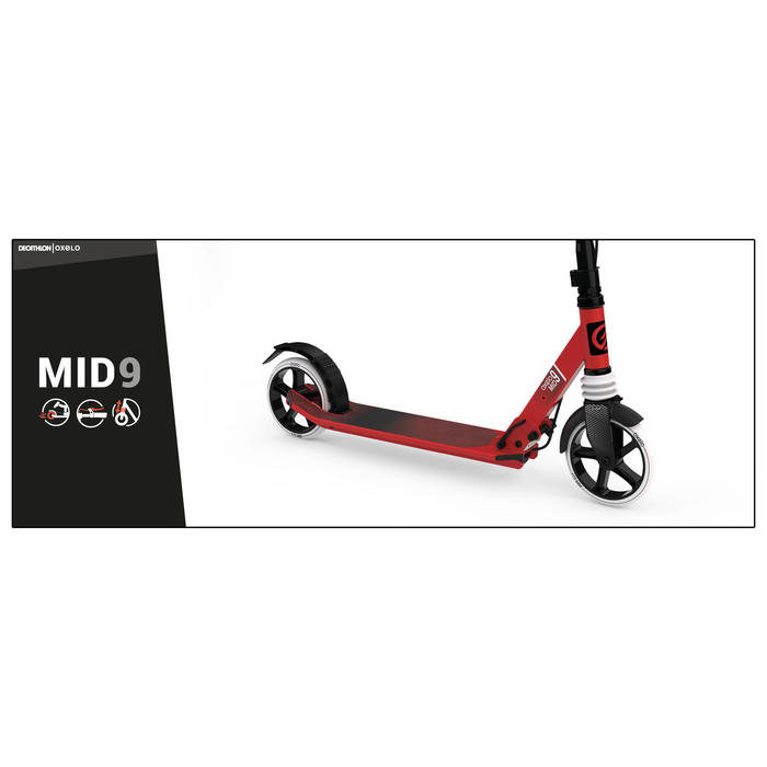 TROTTINETTE MID 9 ROUGE
