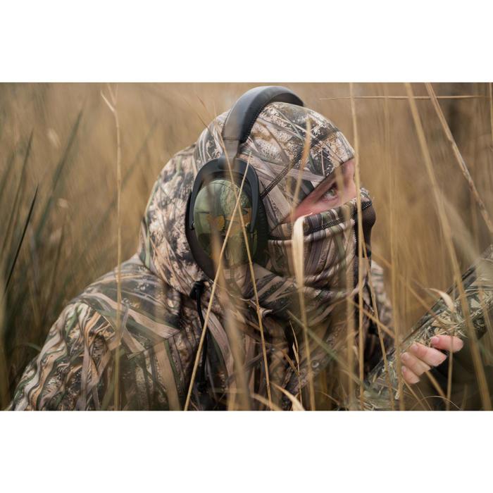Cache-cou chasse chaud 500 camouflage marais