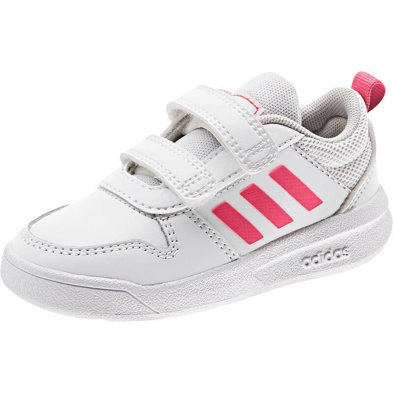 Zapatillas Adidas Bebé Primeros Pasos Tensaur blanco rosa Tallas 20 a 27