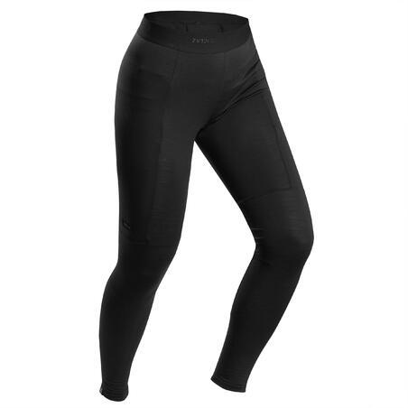 Trek 500 Mountain Trekking Merino Tights Undergarment - Women