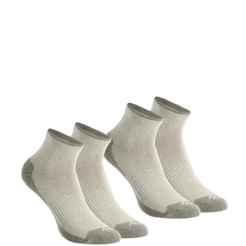Túrazokni Túrázás - Zokni NH100 Mid, 2 pár QUECHUA - Cipő, bakancs, szandál