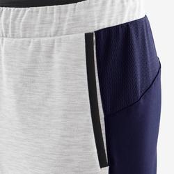 Pantalon chaud, synthétique respirant S500 garçon GYM ENFANT gris chiné clair