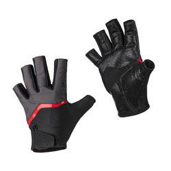 Rugby handschoenen volwassenen R500 zwart