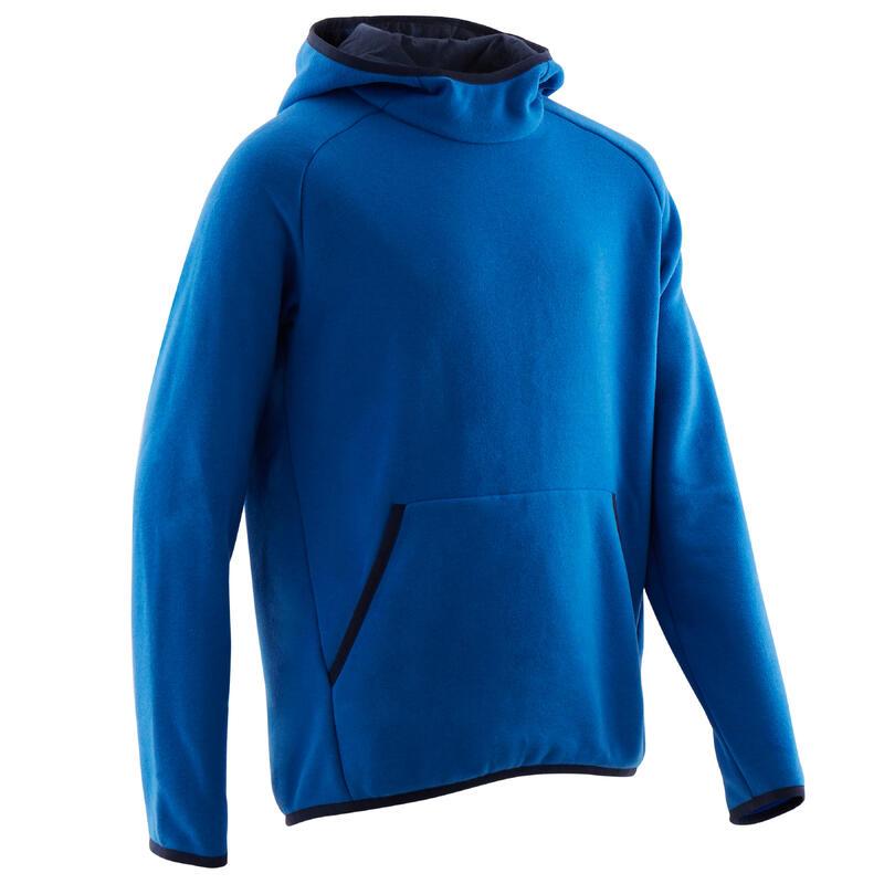 Kapüşonlu Sweatshirt - Erkek Çocuk - Mavi - 100