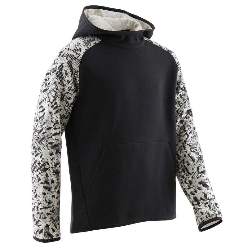 KLÄDER FÖR GYMNASTIK KALL VÄDERLEK, POJK Populärt - Huvtröja CAP 100 B GYM DOMYOS - Sweatshirts