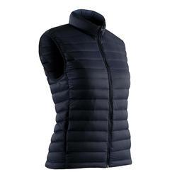 Bodywarmer voor golf dames Ultralight koud weer marineblauw