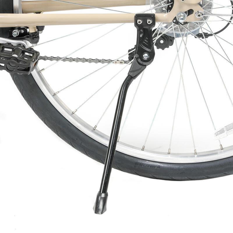 จักรยานซิตี้ไบค์เฟรมต่ำรุ่น Elops 120 (สีครีม Linen)