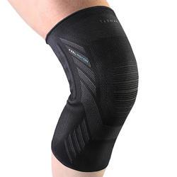 Kniebandage links/rechts voor heren/dames Prevent 500 zwart
