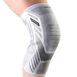 Kniebrace links/rechts voor heren/dames Prevent 500 grijs wit