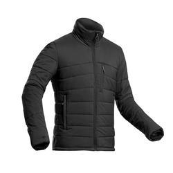 Doudoune en ouate de trek montagne - confort -10°C - TREK 500 noir - homme