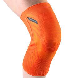 Linker/rechter kniebandage voor heren/dames Prevent 500 oranje