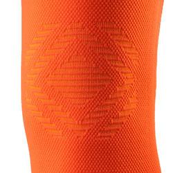 Genouillère gauche/droite de maintien homme/femme PREVENT 500 orange