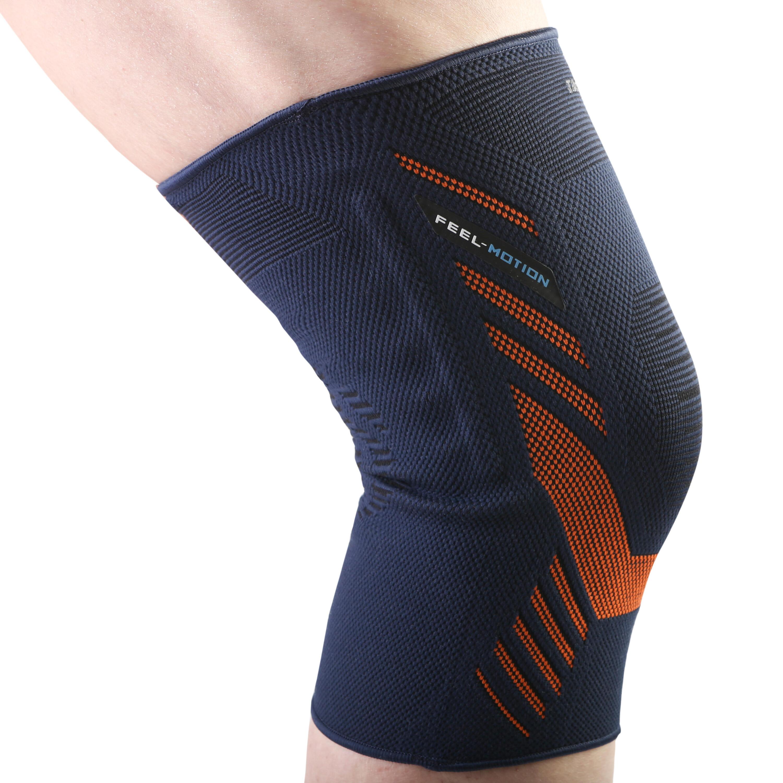 Men's/Women's Right/Left Knee Brace Prevent 500 - Blue/Orange