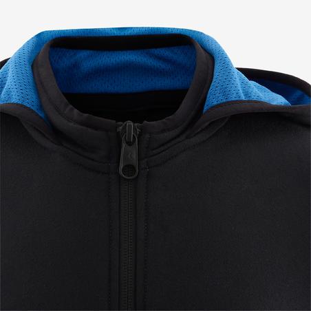 Conjunto cálido sintético transpirable S500 niño GIMNASIA INFANTIL negro/azul