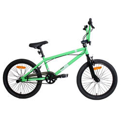"Bicicleta BMX 20"" Freestyle Verde"