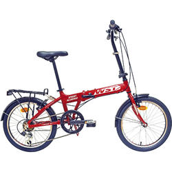 Bicicleta plegable aluminio Sprint 6V