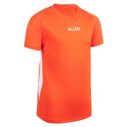 Volleyballtrikot V100 Jungen orange