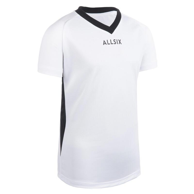 V100 Boys' Volleyball Jersey - White