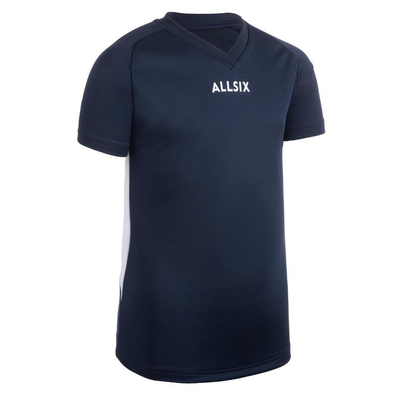 Chlapecký volejbalový dres V100 tmavě modrý