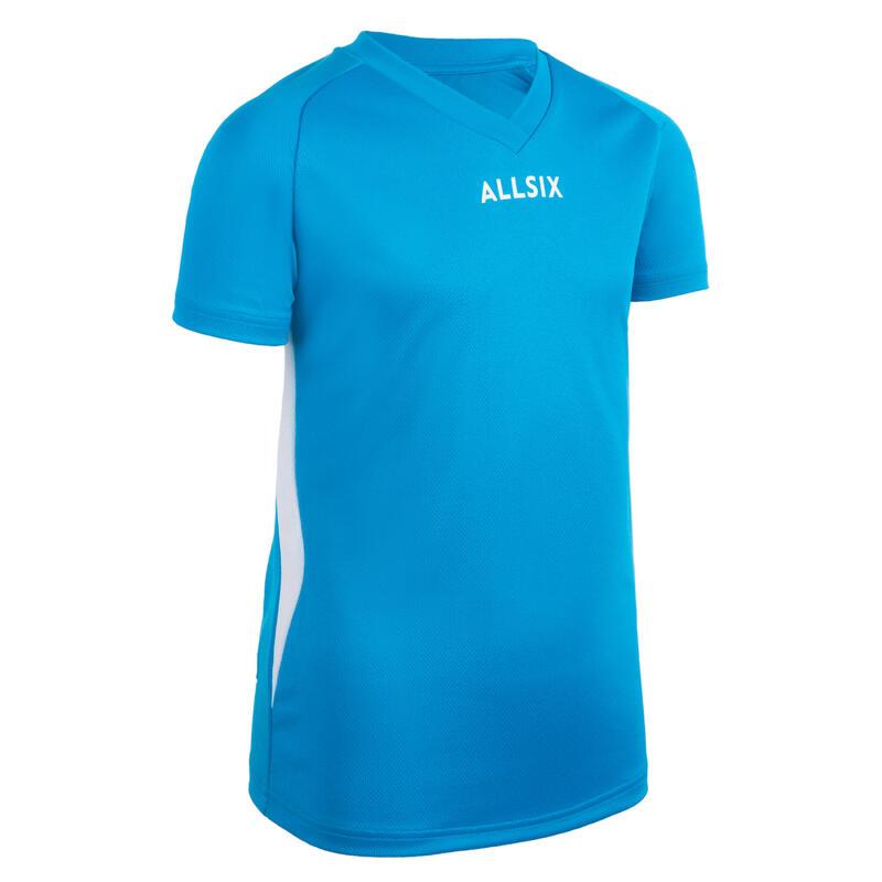 Chlapecký volejbalový dres V100 modrý