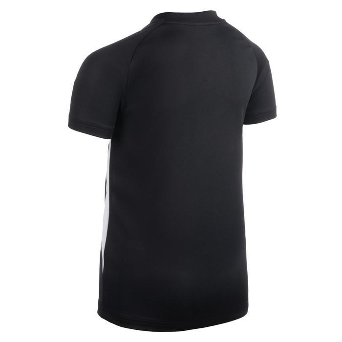 Volleybalshirt voor jongens V100 zwart